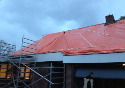 nanningabouw winschoten dakpan vervaging met isoleren foto 1