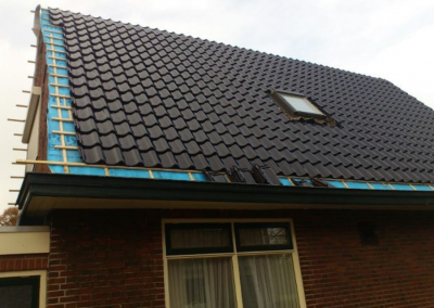 nanningabouw winschoten dakpan vervaging met isoleren foto 2