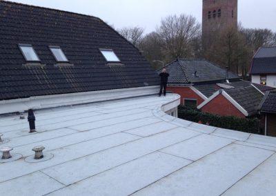 nanningabouw winschoten project dakwerk bitumen vervangen foto 1