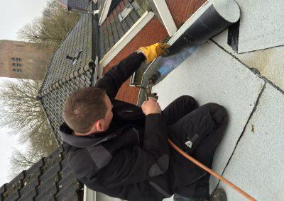 nanningabouw winschoten project dakwerk bitumen vervangen foto 3