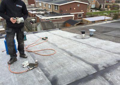 nanningabouw winschoten project dakwerk bitumen vervangen foto 6