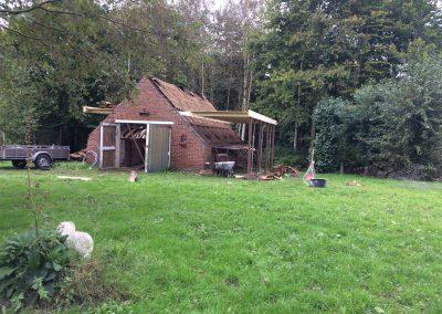 nanningabouw winschoten verbouw oude schuur tot buitenverblijf foto 1