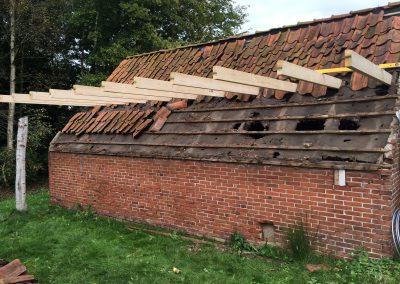 nanningabouw winschoten verbouw oude schuur tot buitenverblijf foto 2