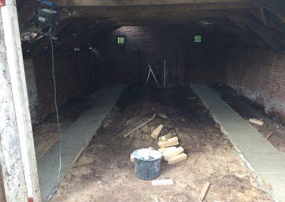 nanningabouw winschoten verbouw oude schuur tot buitenverblijf foto 4