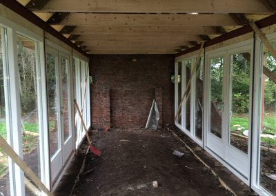 nanningabouw winschoten verbouw oude schuur tot buitenverblijf foto 6