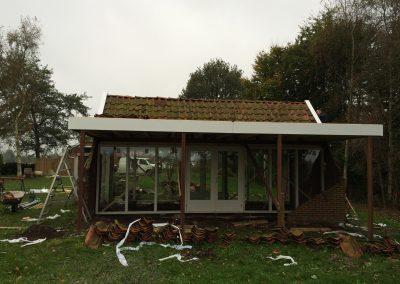 nanningabouw winschoten verbouw oude schuur tot buitenverblijf foto 7